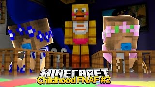 Minecraft Childhood FNAF - FREDDY IS IN THE CASTLE! #2
