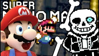 THE ULTIMATE SANS CHALLENGES ARE FINALLY HERE!! | Undertale Levels | Super Mario Maker