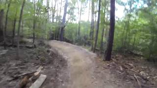 Mo-Flo trail video from August 2015 at Allatoona Creek Park.