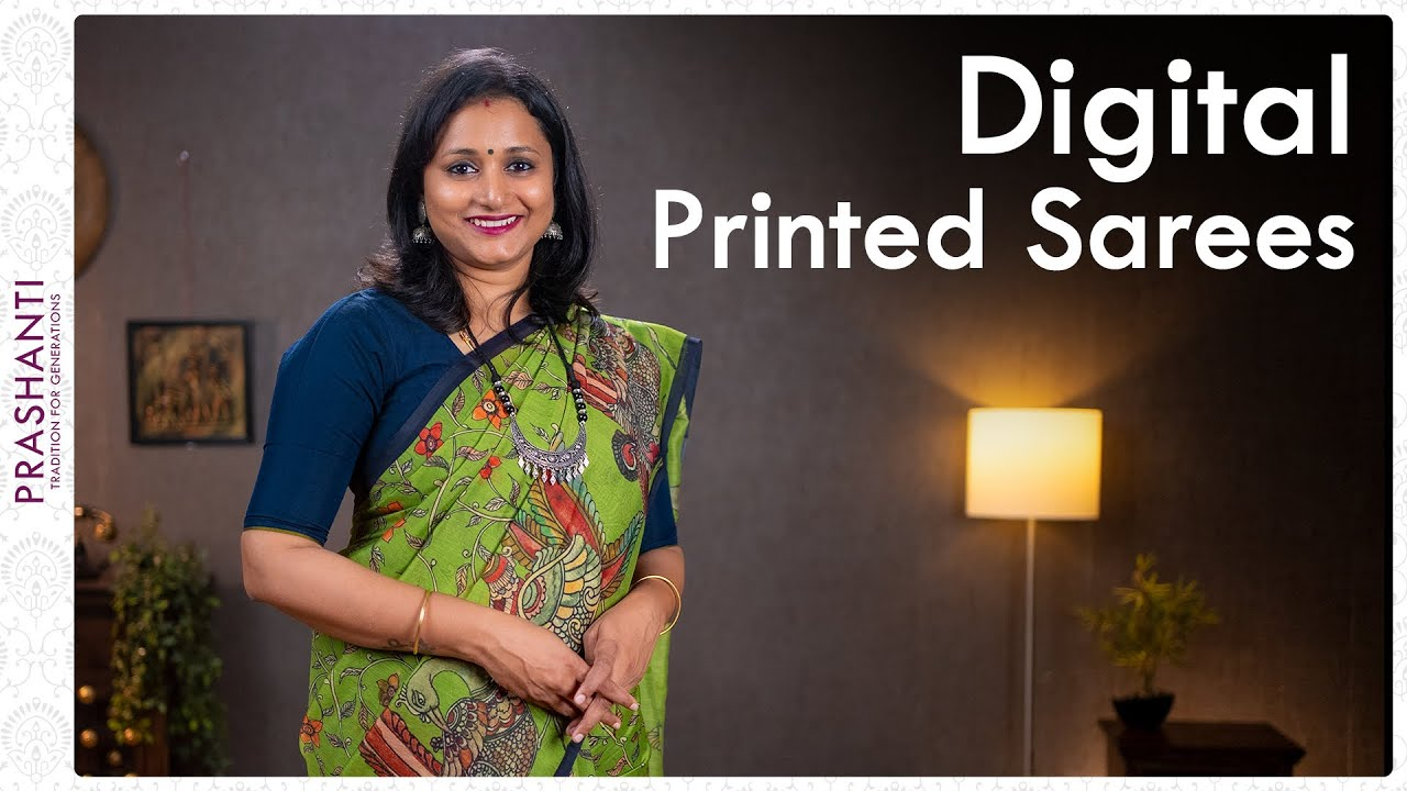 "<p style=""color: red"">Video : </p>Digital Printed Sarees by Prashanti | 15 September 2021 2021-09-16"