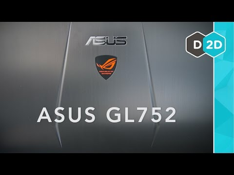 "ASUS GL752 Review - 17"" Budget Gaming Laptop (Late 2015)"