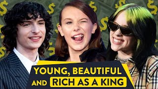 Top 10 Richest Young Celebrities Under 21 Revealed! |⭐ OSSA Lists
