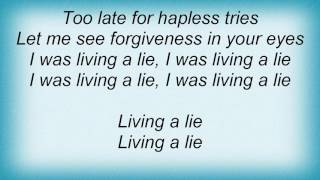 4 Strings - Living A Lie Lyrics