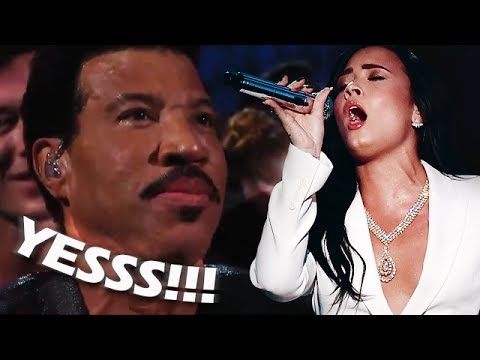 Famous People REACTING to Demi Lovato's WONDERFUL VOCALS!