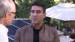 Energia Solar no programa É de Casa - Rede Globo