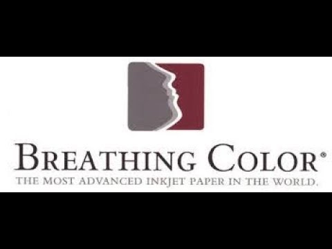 Review BREATHING COLOR PHOTO PRINT MEDIA PAPER as printed on the Canon Pro 100