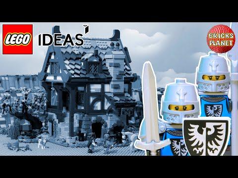 Vidéo LEGO Ideas 21325 : Le forgeron médiéval