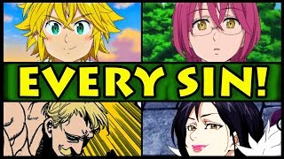 Gambar cover All 7 Sins and Their Powers Explained! (Seven Deadly Sins / Nanatsu no Taizai S2 Every Sin Season 2)