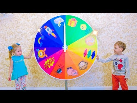 Kids playing at Magic wheel