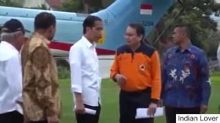 Presiden Jokowi Mengunjungi Korban Gempa Di RSUD Tengku Chik Ditiro Sigli Pidie
