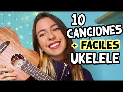 Las 10 canciones más FÁCILES en UKELELE | Tutorial ❤️