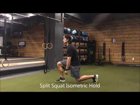 Resilient Performance PT - Split Squat Isometric Hold