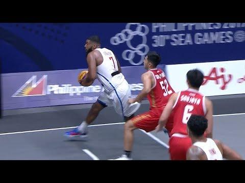 Full Game: Philippines vs Indonesia | 3X3 Basketball M Prelim Round | 2019 SEA Games