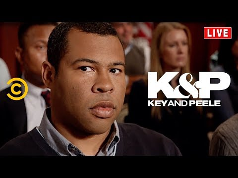 New Key & Peele - Town Hall Audience Member