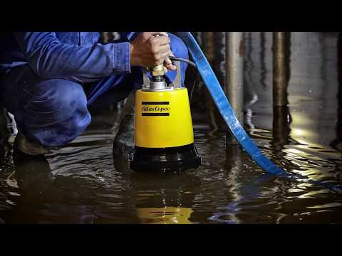 Do you need a Small Water Pump? See the Portable Water Pumps of the WEDA range, Atlas Copco - zdjęcie