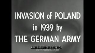 NIEMIECKA INWAZJA NA POLSKĘ 1939 II WOJNA ŚWIATOWA FILM 78784