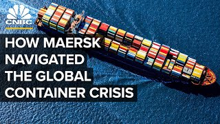 How Maersk Dominates the Global Shipping Industry