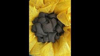 How to make a Sunflower Center