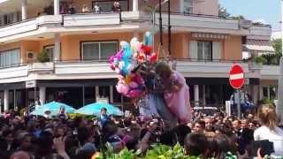 preview picture of video 'Volo dell'Angelo 2014 - Ottaviano'
