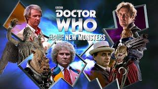 Classic Doctors New Monsters - Juillet 2016