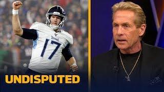 Skip Bayless on Ravens-Titans: 'I am feeling a huge upset here' | NFL | UNDISPUTED