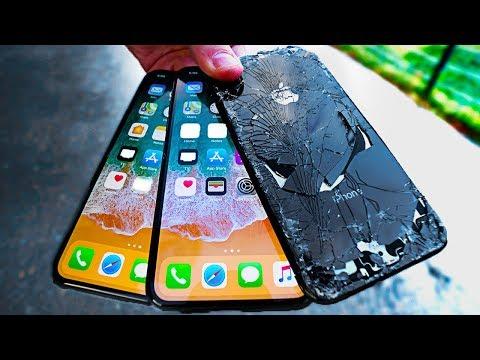 Non uno, non due, non tre ma ben quattro iPhone X sotto tortura