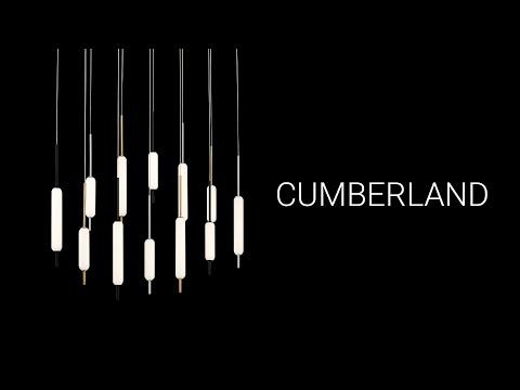 Video for Cumberland Satin Nickel 12-Light LED Pendant
