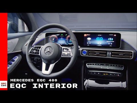 Mercedes EQC 400 Electric SUV Interior