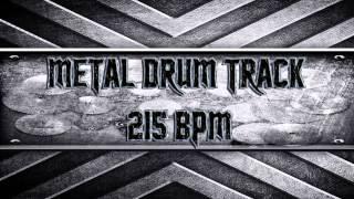 Nile/Behemoth/Brutal Death Metal Drum Track 215 BPM (HQ,HD)