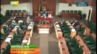View live streaming of the Senate's State of the Nation Debate