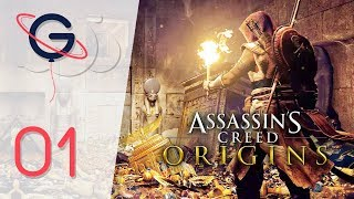 ASSASSIN'S CREED ORIGINS FR #1 : Bienvenue en Égypte !