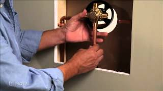 Watch Installing Copper to Copper Shower Valve