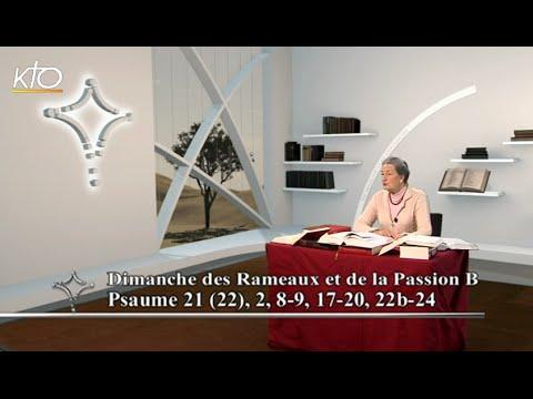 Dimanche des Rameaux B - Psaume