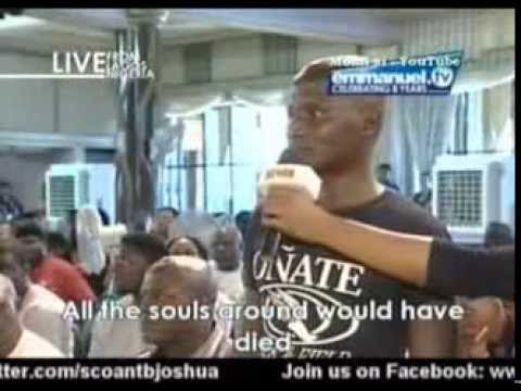 Boko Haram Failed Bomb Plan To Blow Up SCOAN. Muslin Terrorist Member Was Delivered By TB Joshua