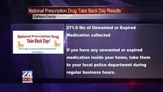 National Prescription Drug Take Back Day Results