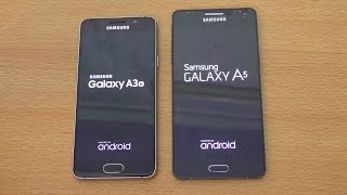 Samsung Galaxy A3 2016 Vs A5 2015