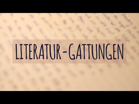 Literatur-Gattungen einfach erklärt | Lyrik | Epik | Dramatik