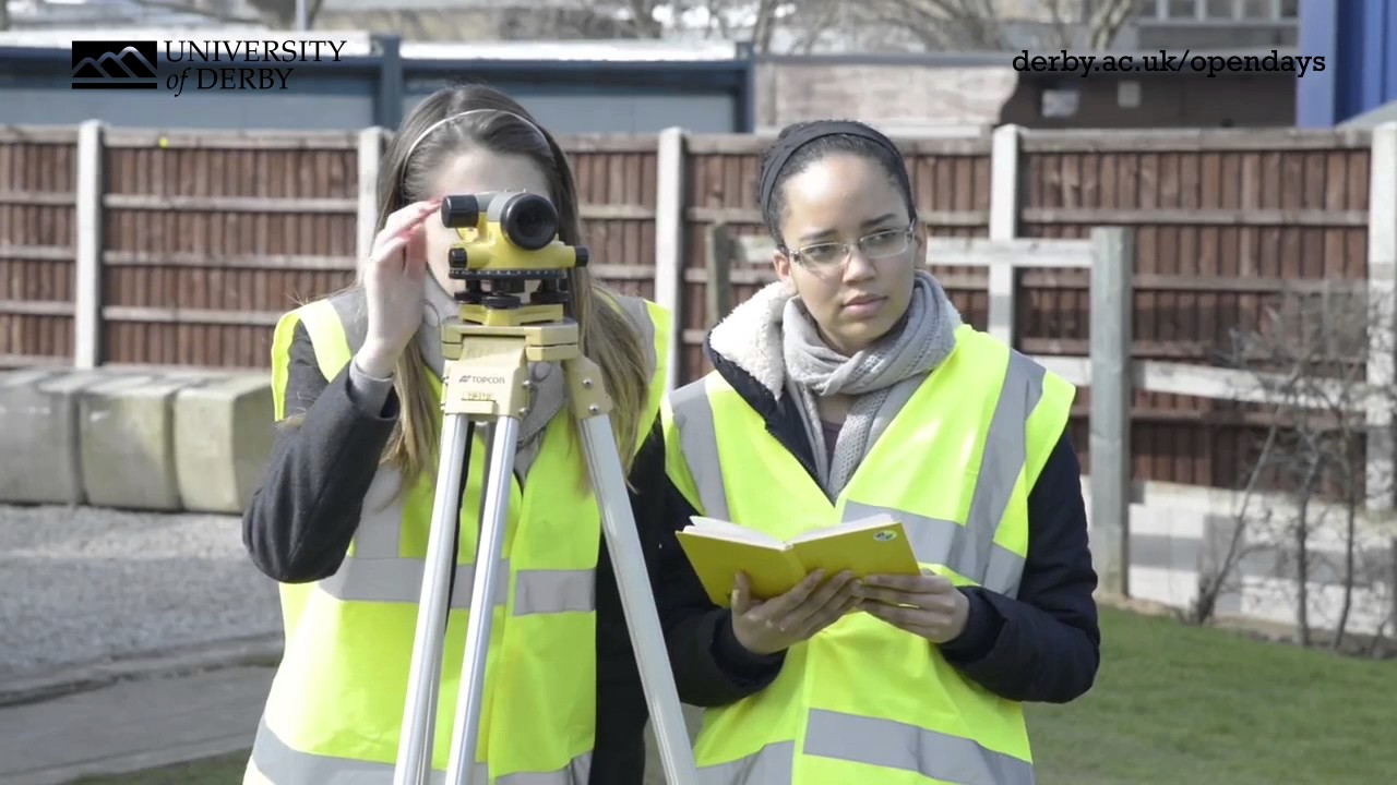 Why you should study Civil Engineering and Construction at the University of Derby
