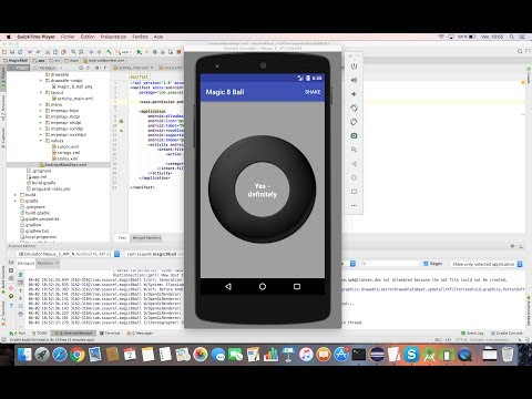 Learn To Create A Magic 8 Ball Game With Android Studio Mp3