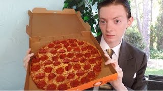 Little Caesars Thin Crust Pepperoni Pizza Review
