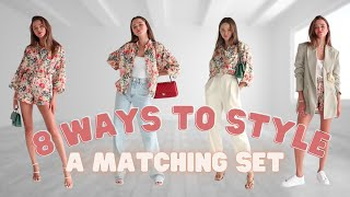How To Style Matching Sets | Everyday Outfit Ideas