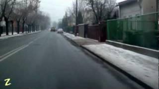 preview picture of video 'Tomaszów Mazowiecki w pierwszy dzień zimy 2011 r. / DW 713 / Poland'
