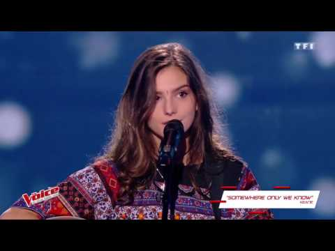 Keane – Somewhere Only We Know Elsa Roses The Voice France 2017 Blind Audition