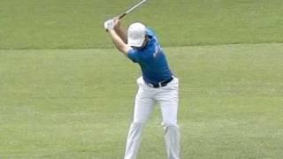 [300FPS] Bae Sang Moon slow motion Iron Golf Swing (5)