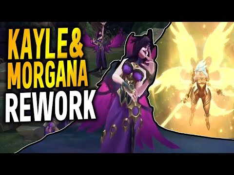 NEW BIG LEAK! New Champion + Kayle & Morgana Reworks + New