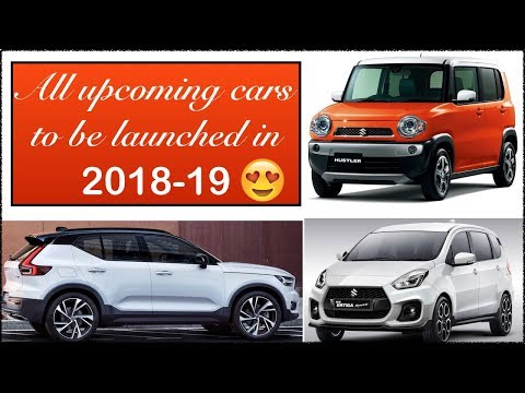All New Latest Top Upcoming Cars In India 2018 2019 With Price,Launch Date
