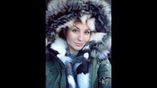 Обзор зимней куртки ПАРКИ с мехом лисы и песца с #aliexpress