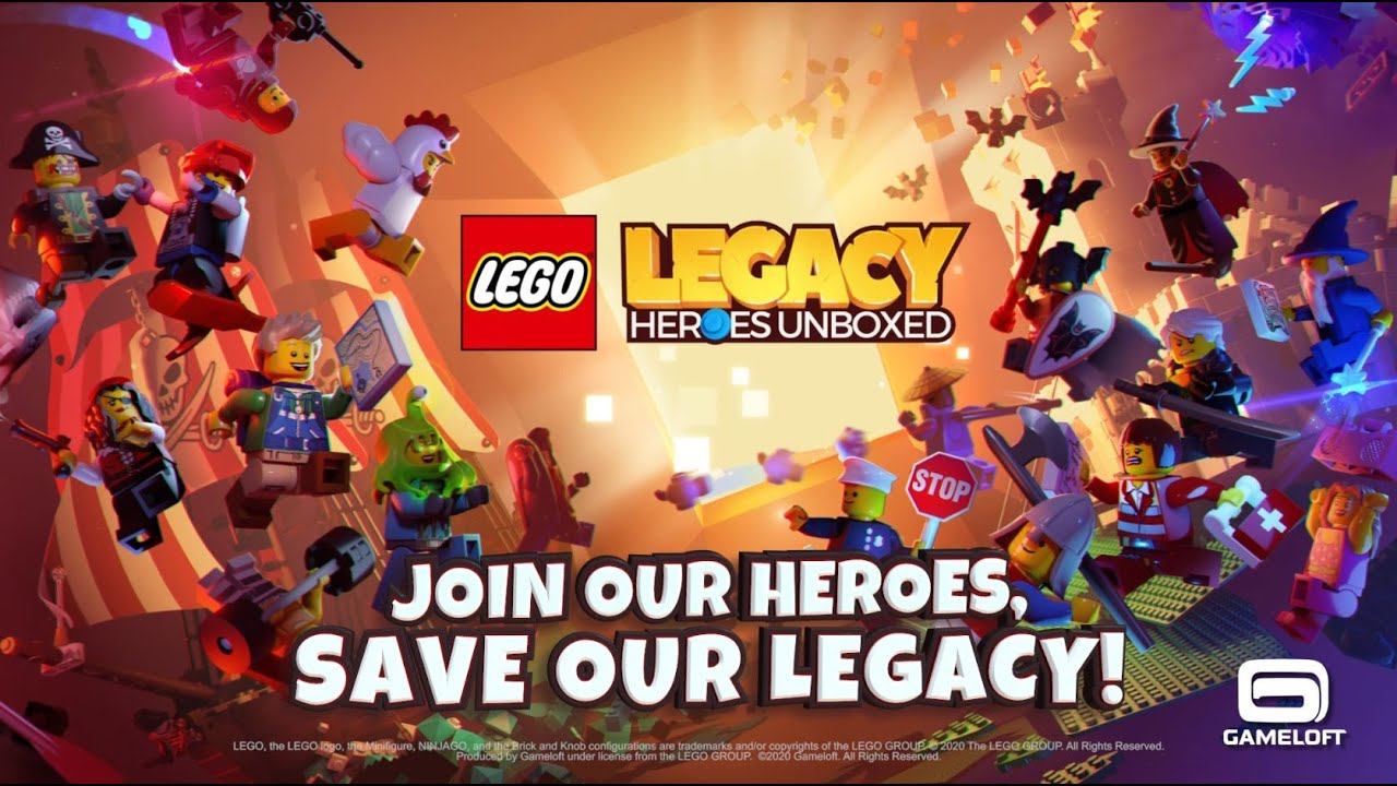 Lego Legacy - Google Play Trailer