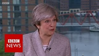 Theresa May (FULL) interview on Andrew Marr Show (01/10/17) - BBC News
