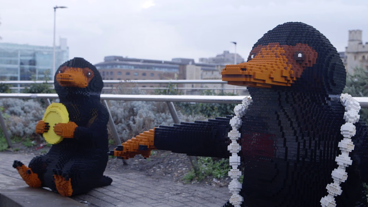 LEGO Nifflers' Journey - Fantastic Beasts
